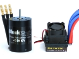 Střídavé combo Black Magic 540 4P 4350kV/reg.60A