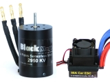 Střídavé combo Black Magic 540 4P 2950kV/reg.50A