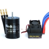 Střídavý motor Black Magic 540 4P 4350kv, reg. 60A